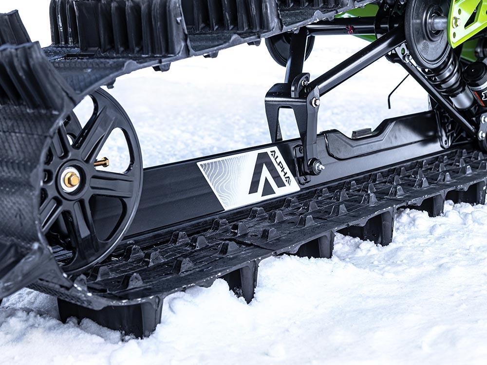 Suspension arrière à rail unique Alpha One