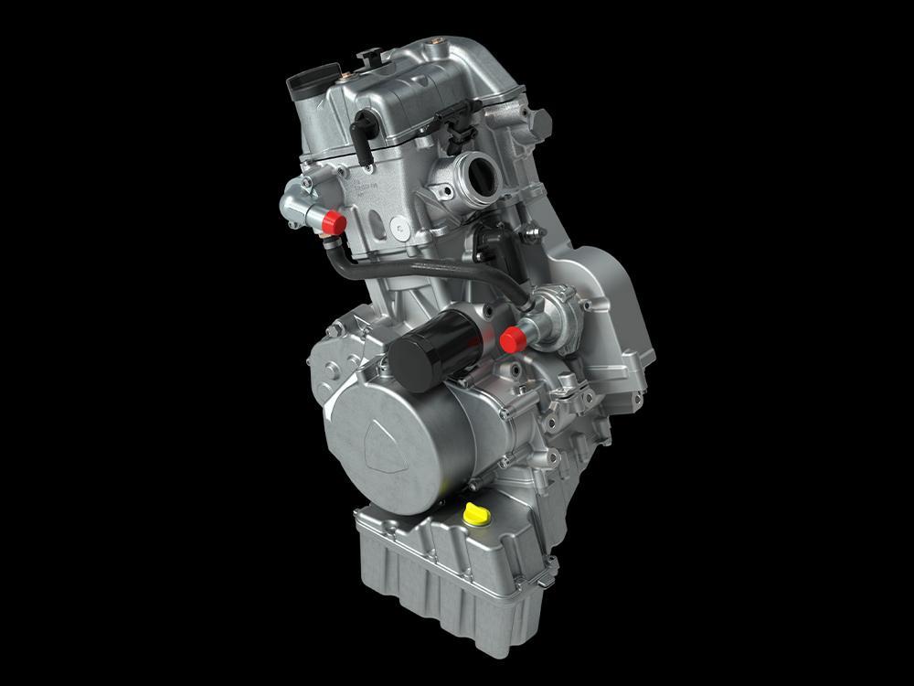 Tout nouveau moteur 600cc, 45HP