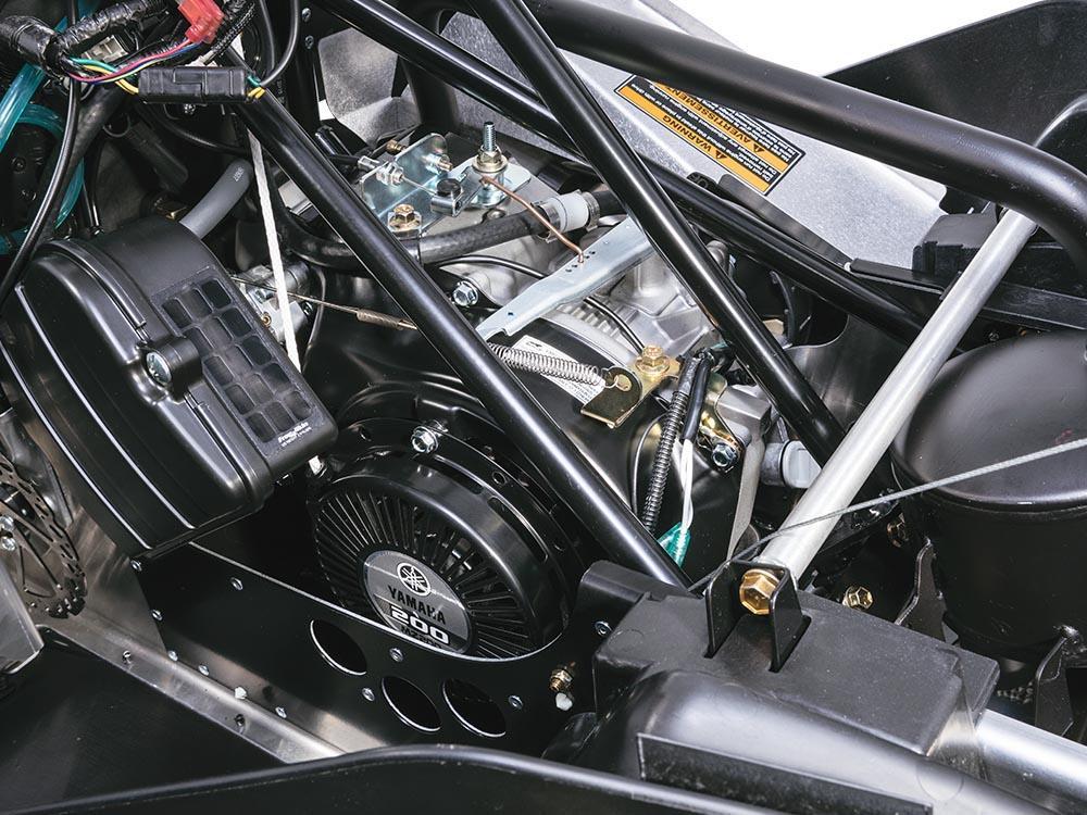 Moteur ZR 200 192cm³