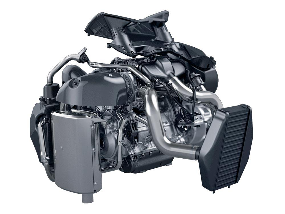 Moteur turbocompressé C-Tec4 série 9000 ZR Thundercat