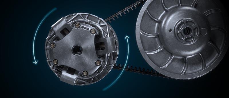 Système ADAPT CVT à poids plus léger