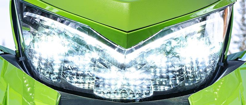 M Hardcore Alpha One LED Headlight