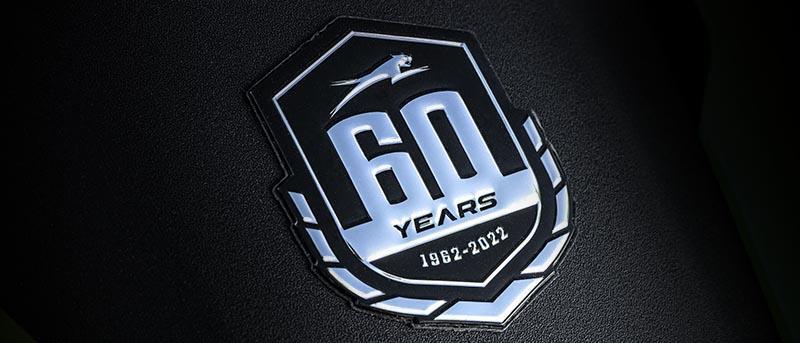 Autocollant 60e anniversaire