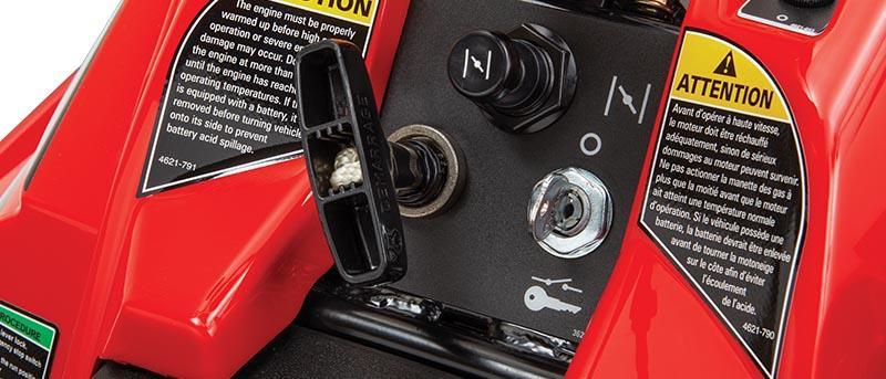 Démarreur électrique Turn-Key ZR 200