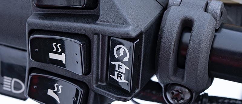 Démarreur électrique à bouton-poussoir ZR RR