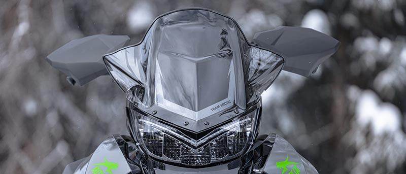 ZR Thundercat Mid Height Windshield