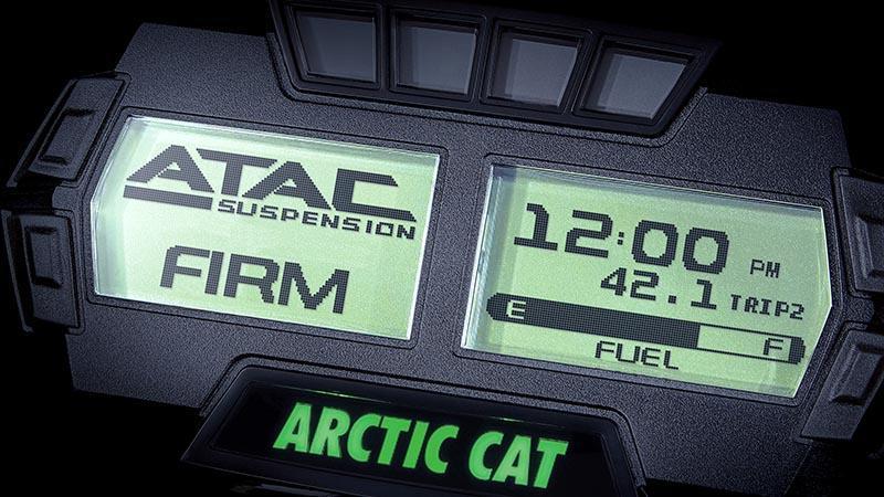 Affichage numérique d'ATAC