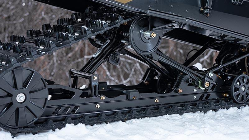 SOUFFLE XR voyageant la suspension de rail de glissière