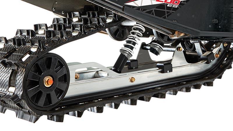 Suspension arrière à glissière ZR 200