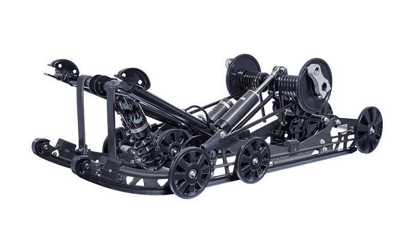 Suspension arrière Slide Action ZR Limited