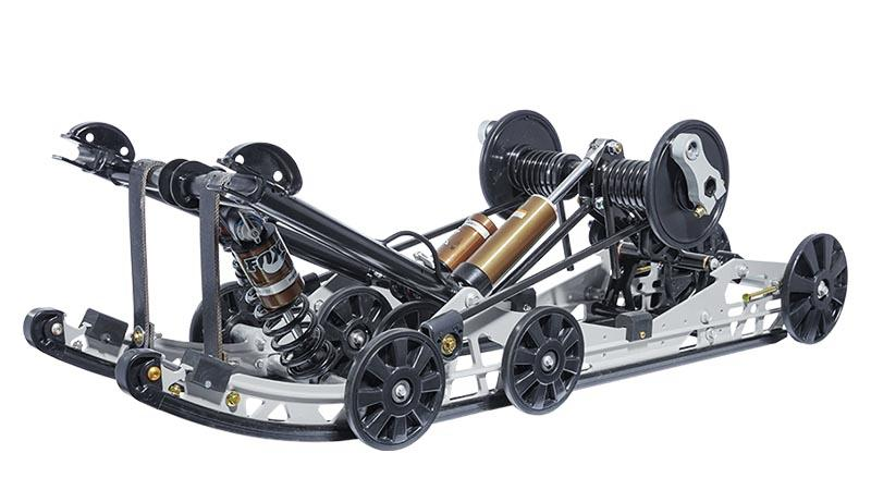 ZR Thundercat Slide Action Rear Suspension